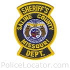 Saline County Sheriff's Department Patch