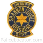 Shannon County Sheriff's Office Patch