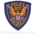 Shelbina Police Department Patch