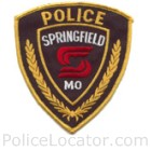 Springfield Police Department Patch