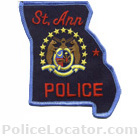 St. Ann Police Department Patch