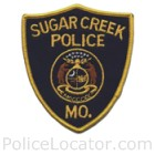 Sugar Creek Police Department Patch