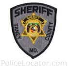 Taney County Sheriff's Department Patch