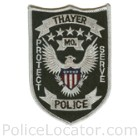 Thayer Police Department Patch