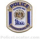 Warrensburg Police Department Patch