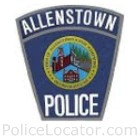 Allenstown Police Department Patch