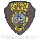 Antrim Police Department Patch