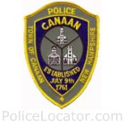 Canaan Police Department Patch
