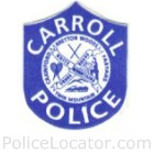 Carroll Police Department Patch