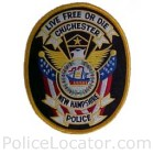 Chichester Police Department Patch