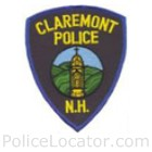 Claremont Police Department Patch