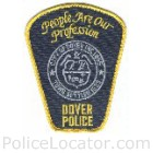 Dover Police Department Patch