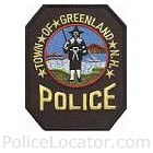Greenland Police Department Patch