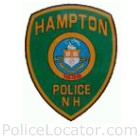 Hampton Police Department Patch