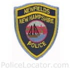 Newfields Police Department Patch