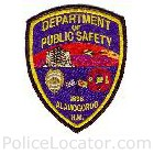 Alamogordo Police Department Patch