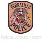 Bernalillo Police Department Patch
