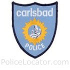 Carlsbad Police Department Patch
