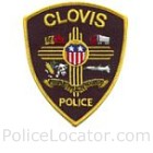Clovis Police Department Patch