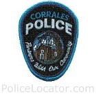 Corrales Police Department Patch