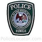 Eunice Police Department Patch