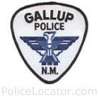Gallup Police Department Patch