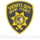 Grant County Sheriff's Department Patch