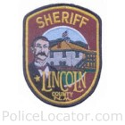 Lincoln County Sheriff's Office Patch
