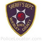 McKinley County Sheriff's Office Patch