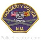Moriarty Police Department Patch