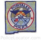 Portales Police Department Patch