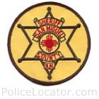 San Miguel County Sheriff's Department Patch