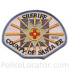 Santa Fe County Sheriff's Office Patch