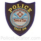 Taos Police Department Patch