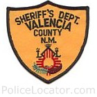 Valencia County Sheriff's Office Patch
