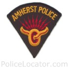 Amherst Police Department Patch