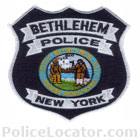 Bethlehem Police Department Patch