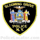 Blooming Grove Police Department Patch