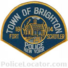 Brighton Police Department Patch