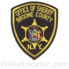 Broome County Sheriff's Office Patch