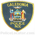 Caledonia Police Department Patch