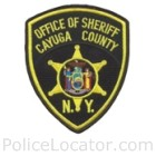 Cayuga County Sheriff's Office Patch