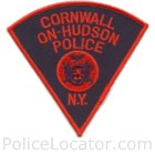 Cornwall-on-Hudson Police Department Patch