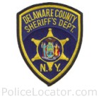Delaware County Sheriff's Office Patch