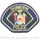 Dunkirk Police Department Patch