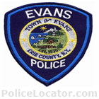 Evans Police Department Patch