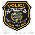 Hamburg Town Police Department Patch
