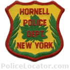 Hornell Police Department Patch