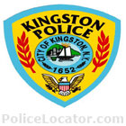 Kingston Police Department Patch