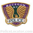 Macedon Police Department Patch